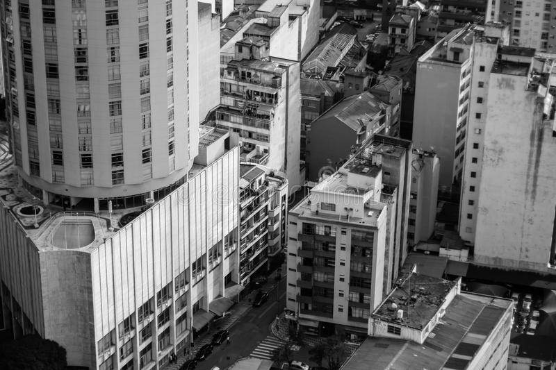 Architecture, Black-and-white, Buildings stock image