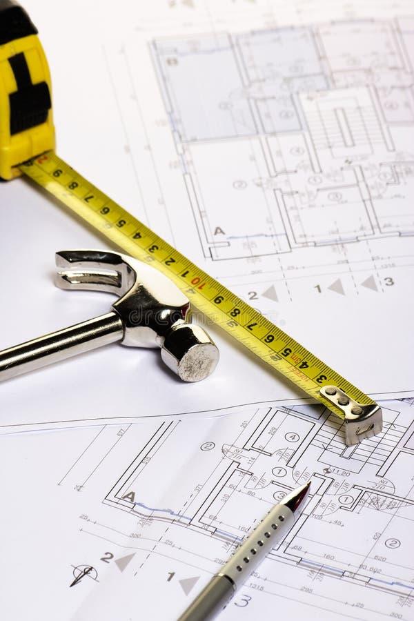 Download Architecture blueprints stock illustration. Illustration of drafting - 39502245