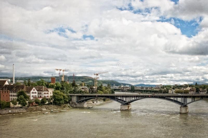 Architecture, Boats, Bridge royalty free stock photography