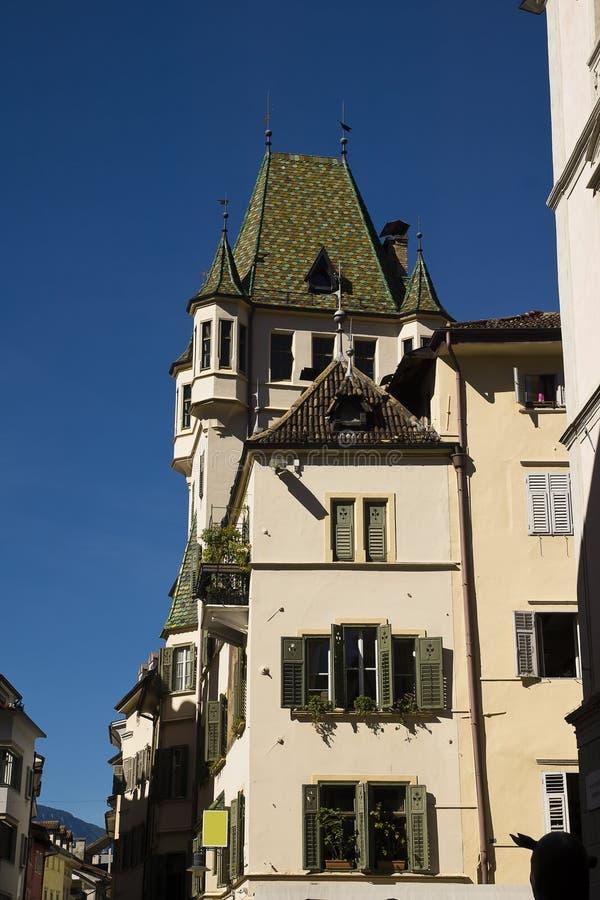 Architecture, Bolzano Italy royalty free stock image