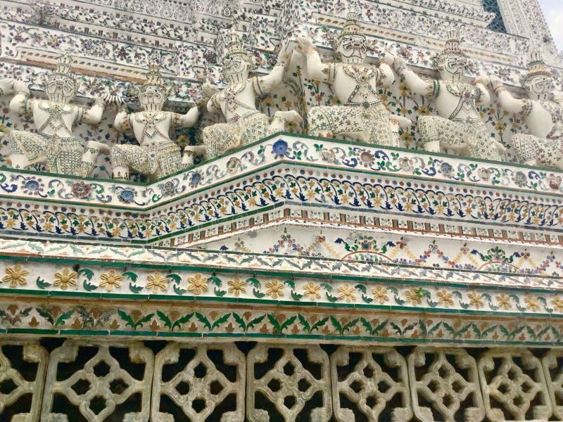 Architecture. Buddhist Trmple. Bangkok. Wat Arun & x22;Temple of Dawn& x22; is a Buddhist temple & x28;wat& x29; in Bangkok Yai district of Bangkok, Thailand stock photos