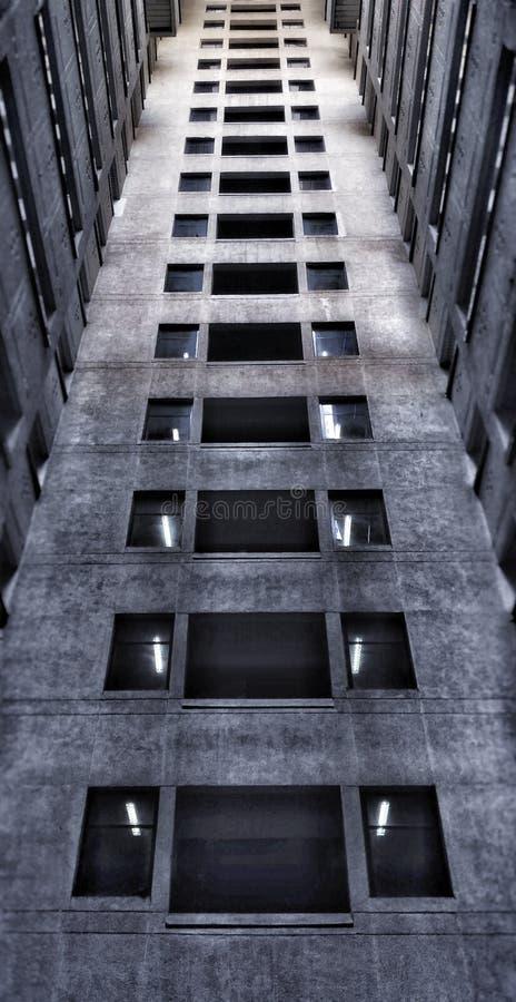 Architecture. Building on barakhamba road cp new delhi stock image