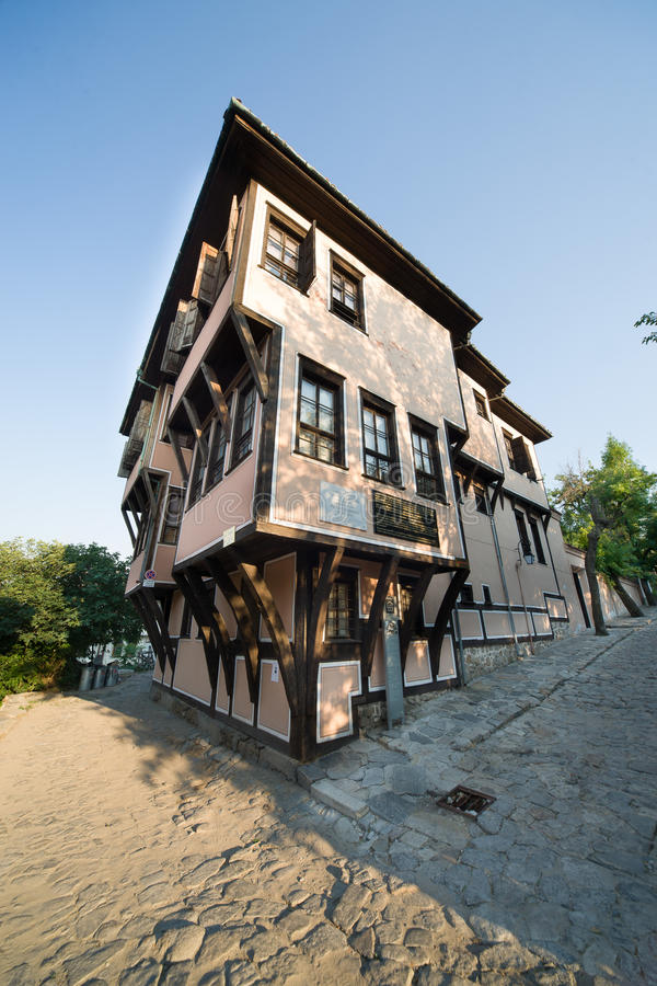Architecture Bulgarian Plovdiv royalty free stock images