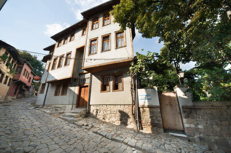 Architecture Bulgarian Plovdiv stock photography