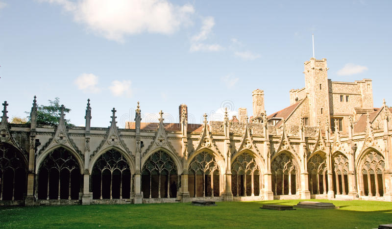 Architecture of canterbury royalty free stock photos