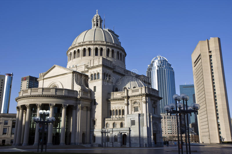 Architecture centrale de Boston photographie stock libre de droits