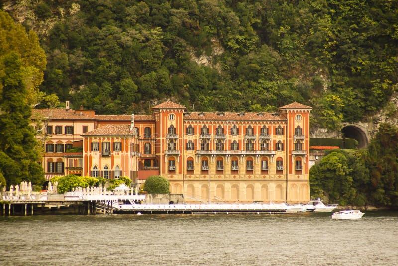 Architecture Cernobbio south lake Como, Italy stock images