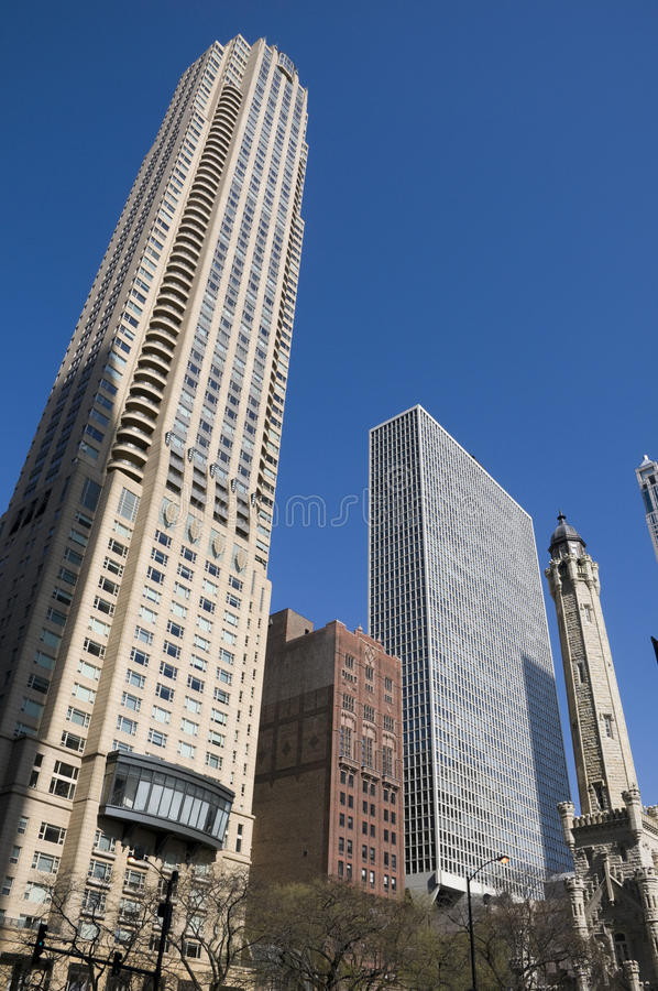 Architecture Chicago photographie stock