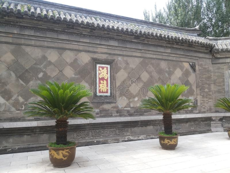 Architecture chinoise image stock