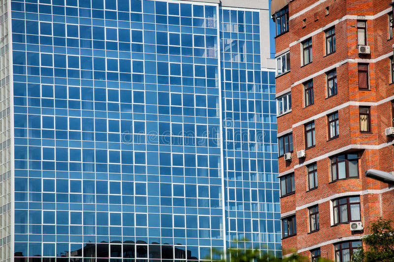 Architecture of the city royalty free stock photos