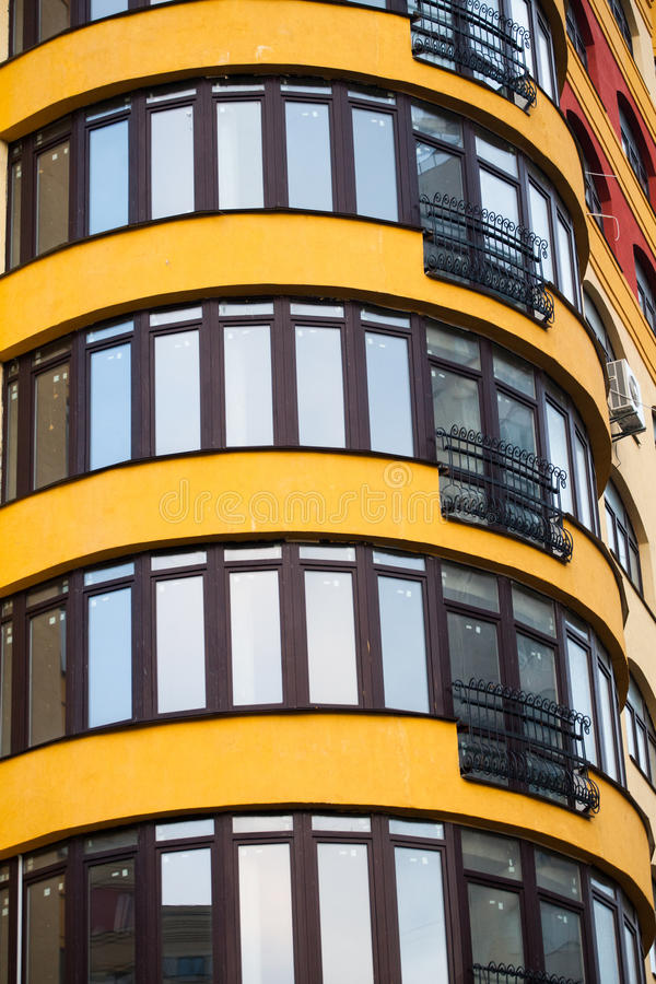 Architecture of the city stock photography