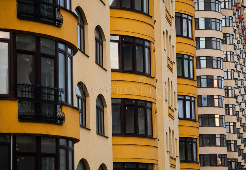 Architecture of the city stock images