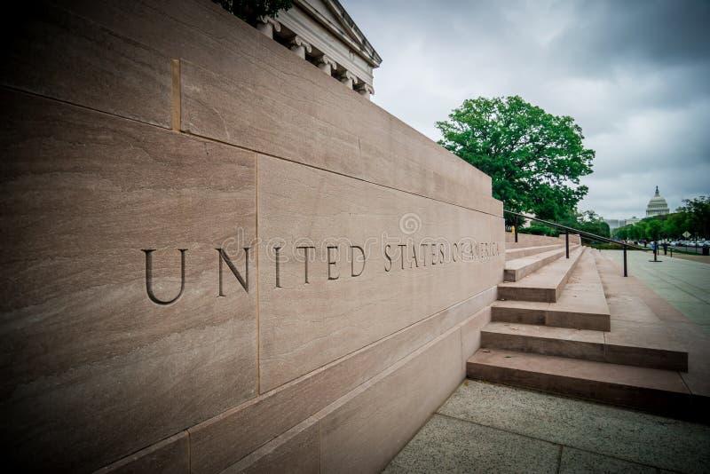 Architecture classique autour de DC de Washington photos libres de droits