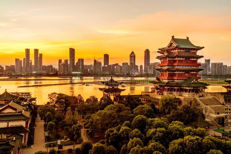 Architecture classique chinoise image stock
