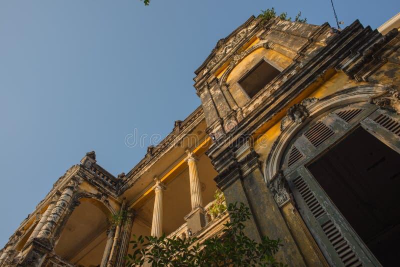 Architecture Colonial Phnom Penh, Cambodia. Mar 2015 royalty free stock photos