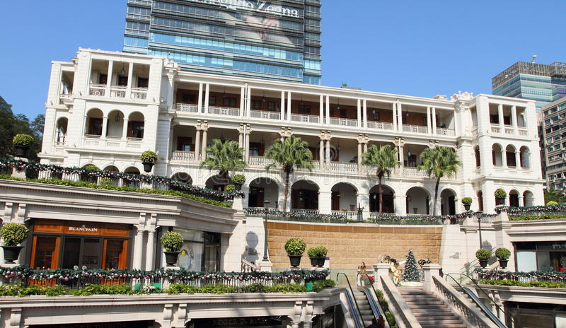 Architecture coloniale dans Tsimshatsui, Hong Kong image stock