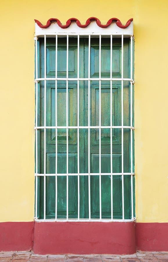 Architecture coloniale du Cuba, Trinidad photo libre de droits