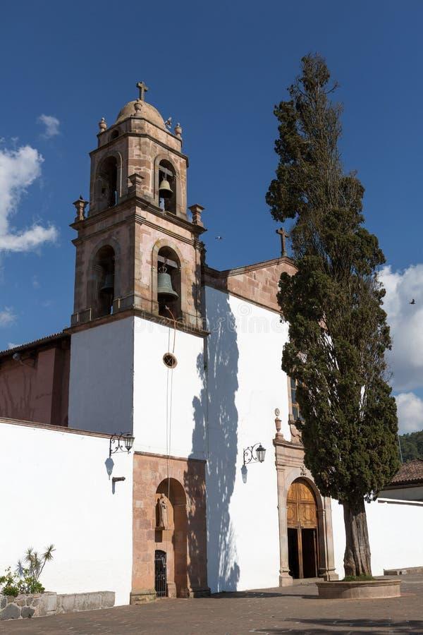 Architecture coloniale en Santa Clara del Cobre images libres de droits