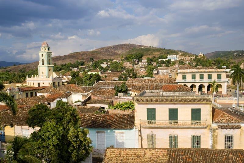 Architecture coloniale, Trinidad, Cuba photo libre de droits