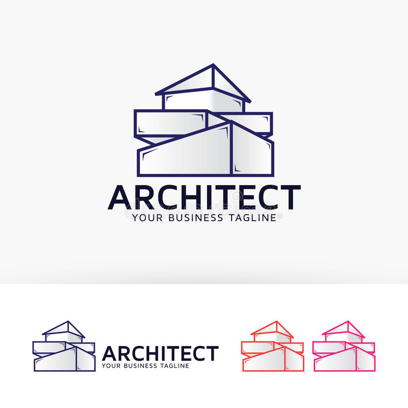 Architect Company architecture company logo design stock vector - image: 82854047