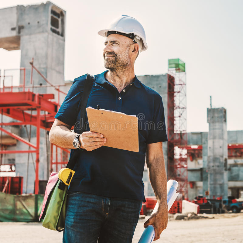 Architecture Construction Safety First Career royalty free stock photography