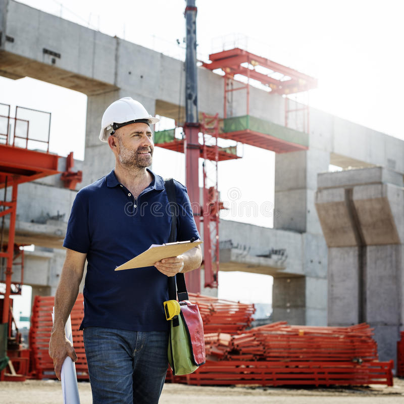 Architecture Construction Safety First Career stock photography