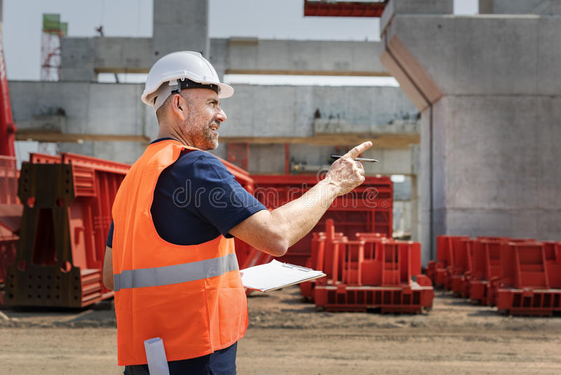 Architecture Construction Safety First Career royalty free stock image