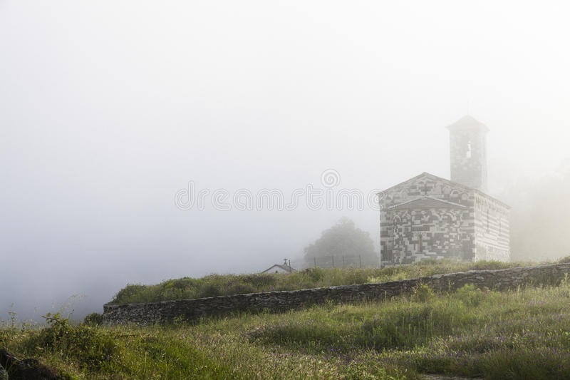 Architecture in Corsica royalty free stock photo