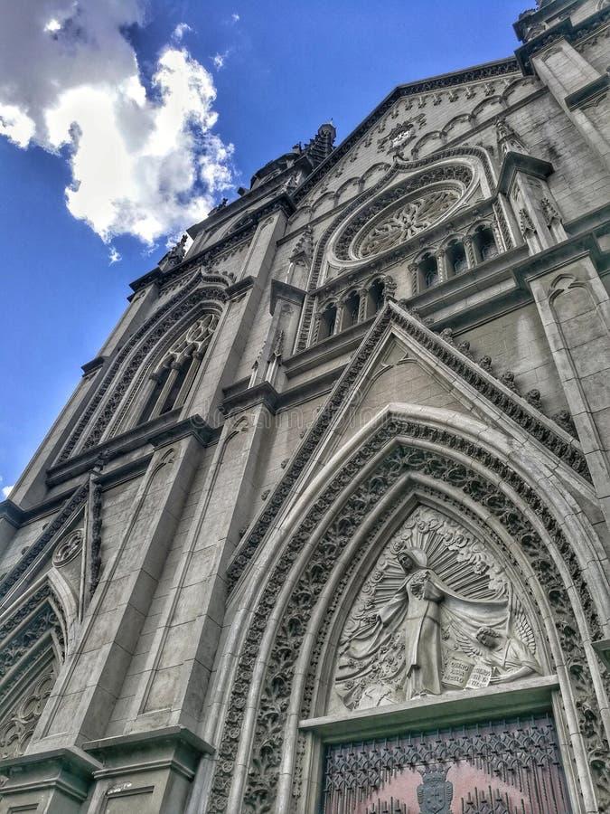 Architecture d'église photo stock
