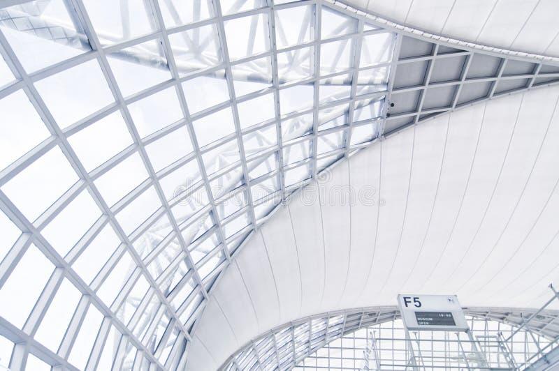 Architecture d'aéroport image libre de droits