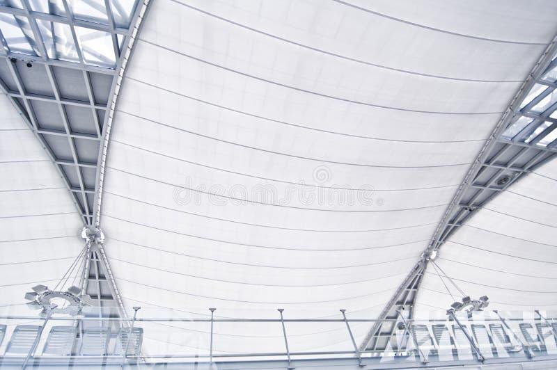 Architecture d'aéroport photo libre de droits