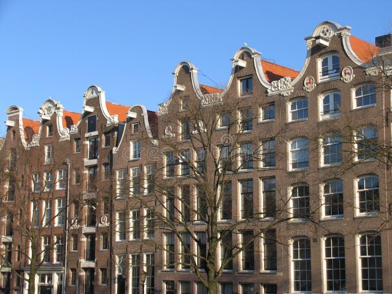 Download Architecture d'Amsterdam image stock. Image du passerelle - 63221