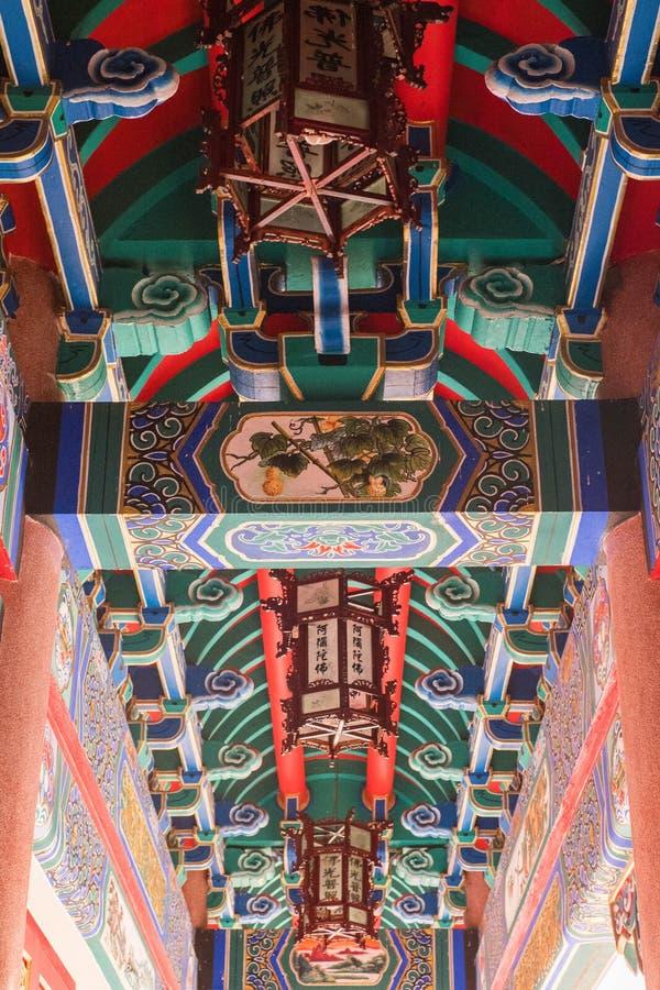 Architecture d'art de Chianese images stock