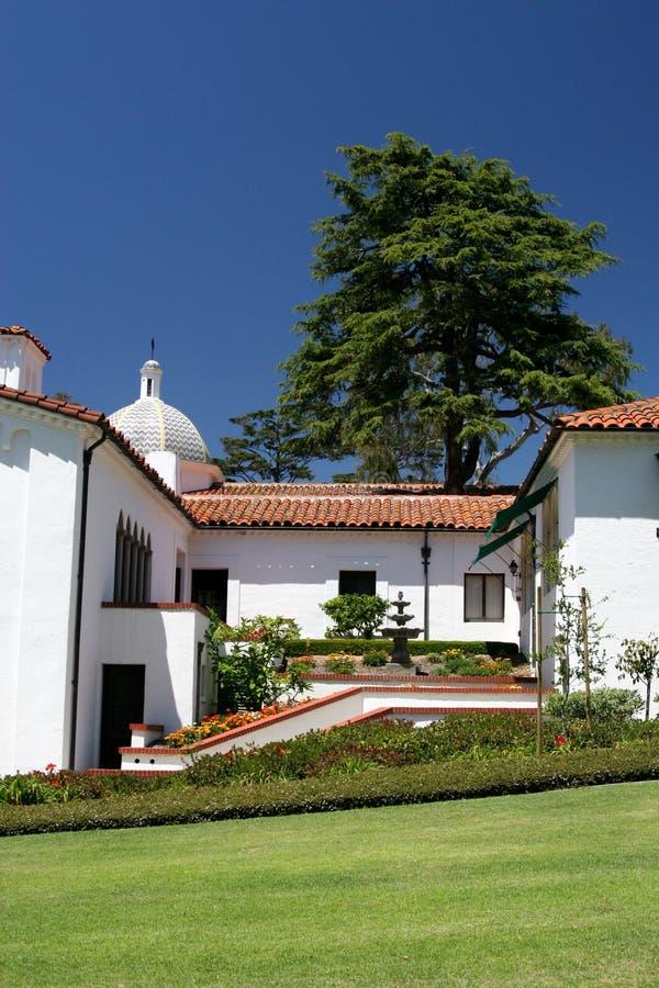 Architecture d'Espagnol de la Californie photos libres de droits