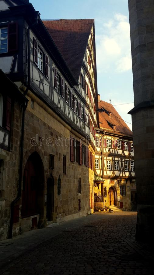 Architecture d'Esslingen AM le Neckar images libres de droits