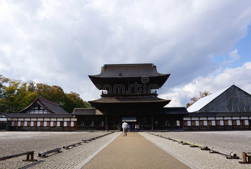 Architecture d'héritage de temple de Zuiryuji à Takaoka photos libres de droits