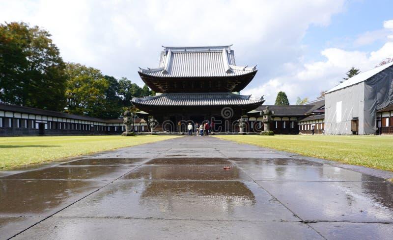 Architecture d'héritage de temple de Zuiryuji à Takaoka photo stock
