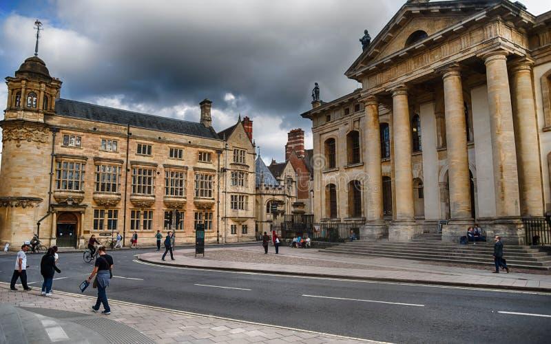 Architecture d'Oxford image libre de droits