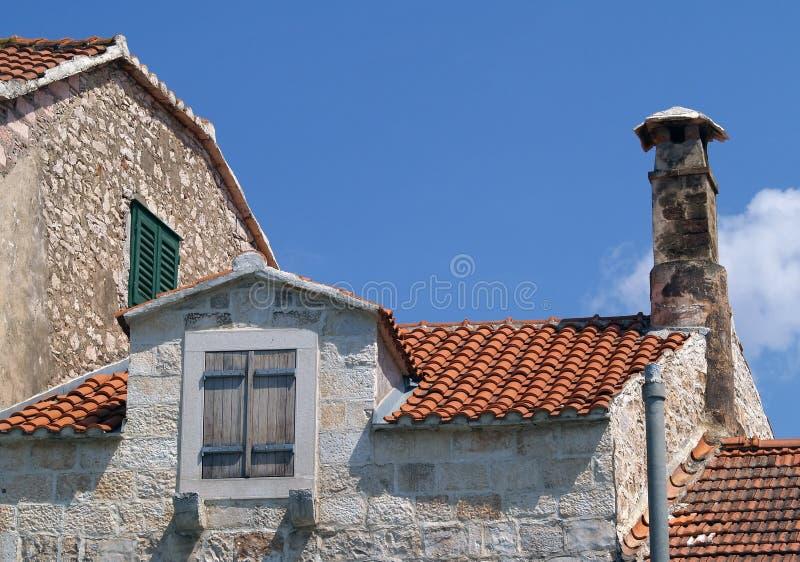 Architecture dalmatienne photos libres de droits