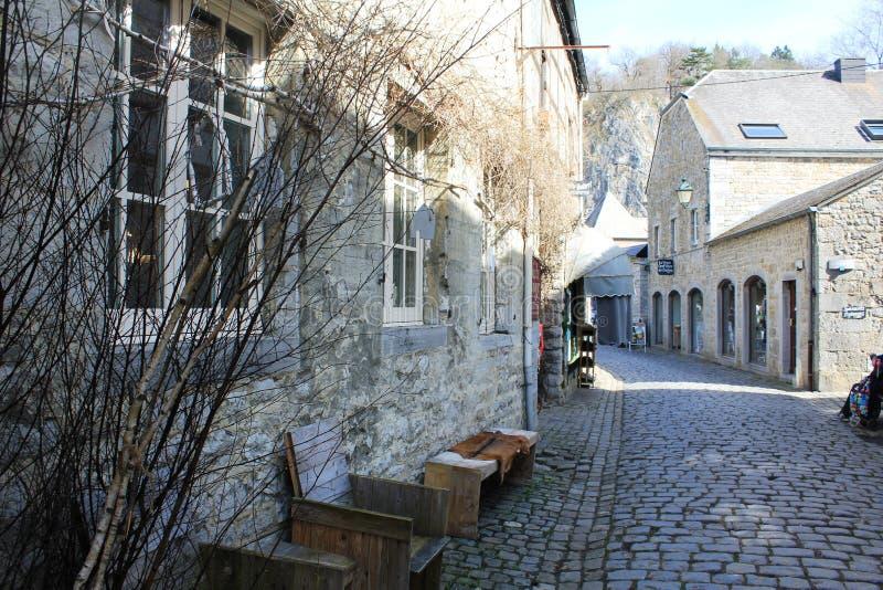 Architecture dans Durbuy, Belgique images libres de droits