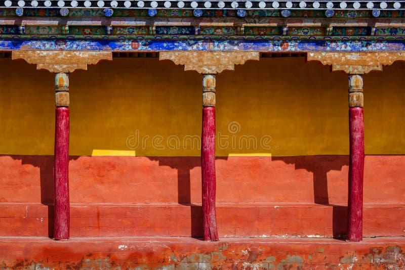 Architecture de bouddhisme tibétain photo libre de droits