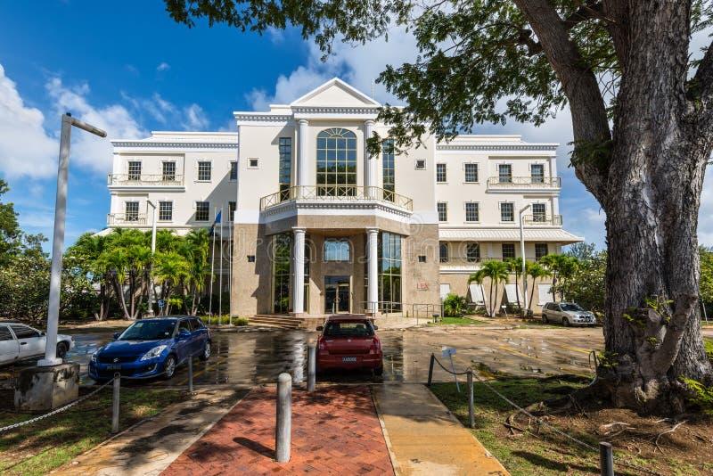 Architecture de Bridgetown, Barbade, des Caraïbes photo stock