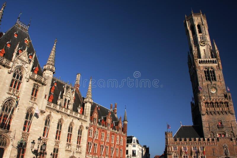 Architecture de Bruges photographie stock