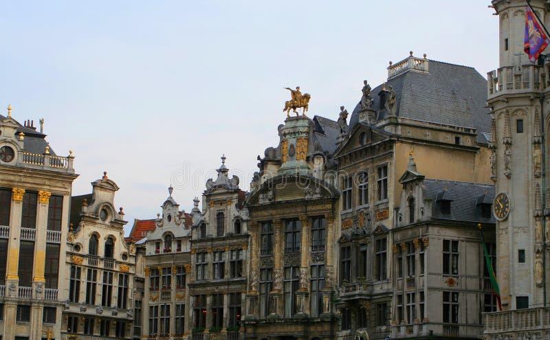 Architecture de Bruxelles image libre de droits