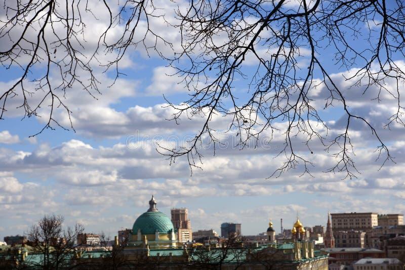 Architecture de centre historique de ville de Moscou photo libre de droits