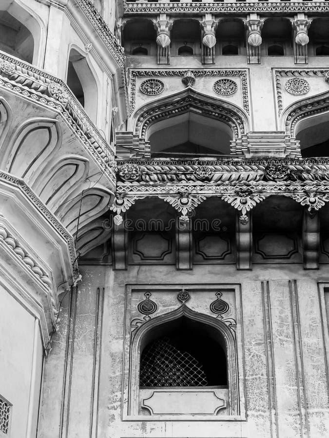 Architecture de Charminar à Hyderabad, Telangana, Indi photos stock