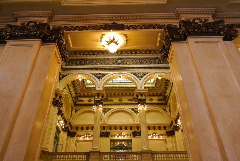 Architecture de deux points de Teatro photographie stock libre de droits