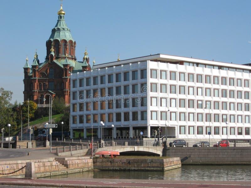 Architecture de Helsinki photographie stock libre de droits