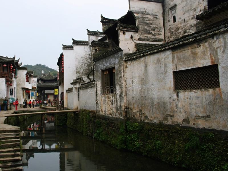 Architecture de Huizhou photo stock