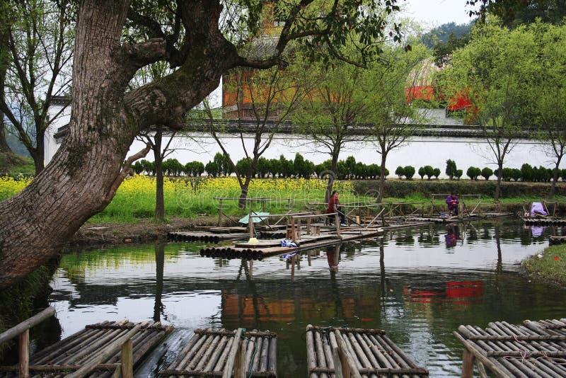 Architecture de Huizhou image libre de droits